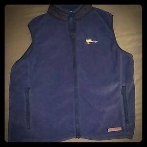 Fleece Vineyard Vines Navy Blue Vest